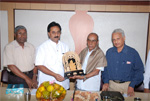 Dr. M.H. Krishnaiah, being felicitated on assuming charge as President, Karanataka Sahitya Academy