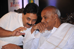Wooday P. Krishna, Chairman, the Institution of Engineers (India), Karnataka State Centre, with former Prime Minister Shri H. D. Deve Gowda at the inauguration of Indian Technology Congress 2014, Bengaluru.
