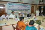 Participating in a round table discussion organised by Gandhi Peace Foundation, Seshadripuram Educational Trust and others, to suggest amendments to Criminal Laws relating to Safety and Security of Woman.  Former Union Minister M. V. Rajashekaran, Freedom Fighter Dr. H. Srinivasaiah, Bengaluru District Advocate Association K. N. Subbareddy, former Advocate General B. V. Acharya and others were present during the occasion.