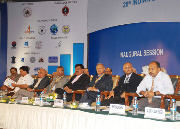 At the inauguration of 26th Indian Engineering Congress, Bengaluru, as Convener of the Congress.