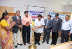 Inaugurating a Blood Donation Camp at RNS Institute of Technology, Bengaluru.