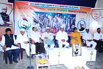 Participating in a Founders Day organised by Bharat Seva Dal.