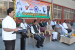 Speaking at Republic Day function organised by Seshadripuram College, Bengaluru.  Noted Journalist P. Ramaiah, Veteran Freedom Fighter S. V. Manjunath were the Chief Guests - 26-1-2013.